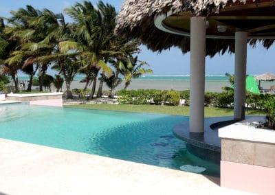 Canary Cove Villa Pool and Swim Up Bar