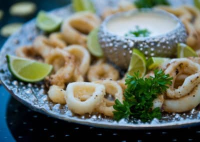 Canary Cove Private Chef-prepared Fresh Calamari
