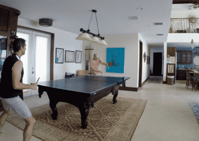 Table Tennis in the Main House