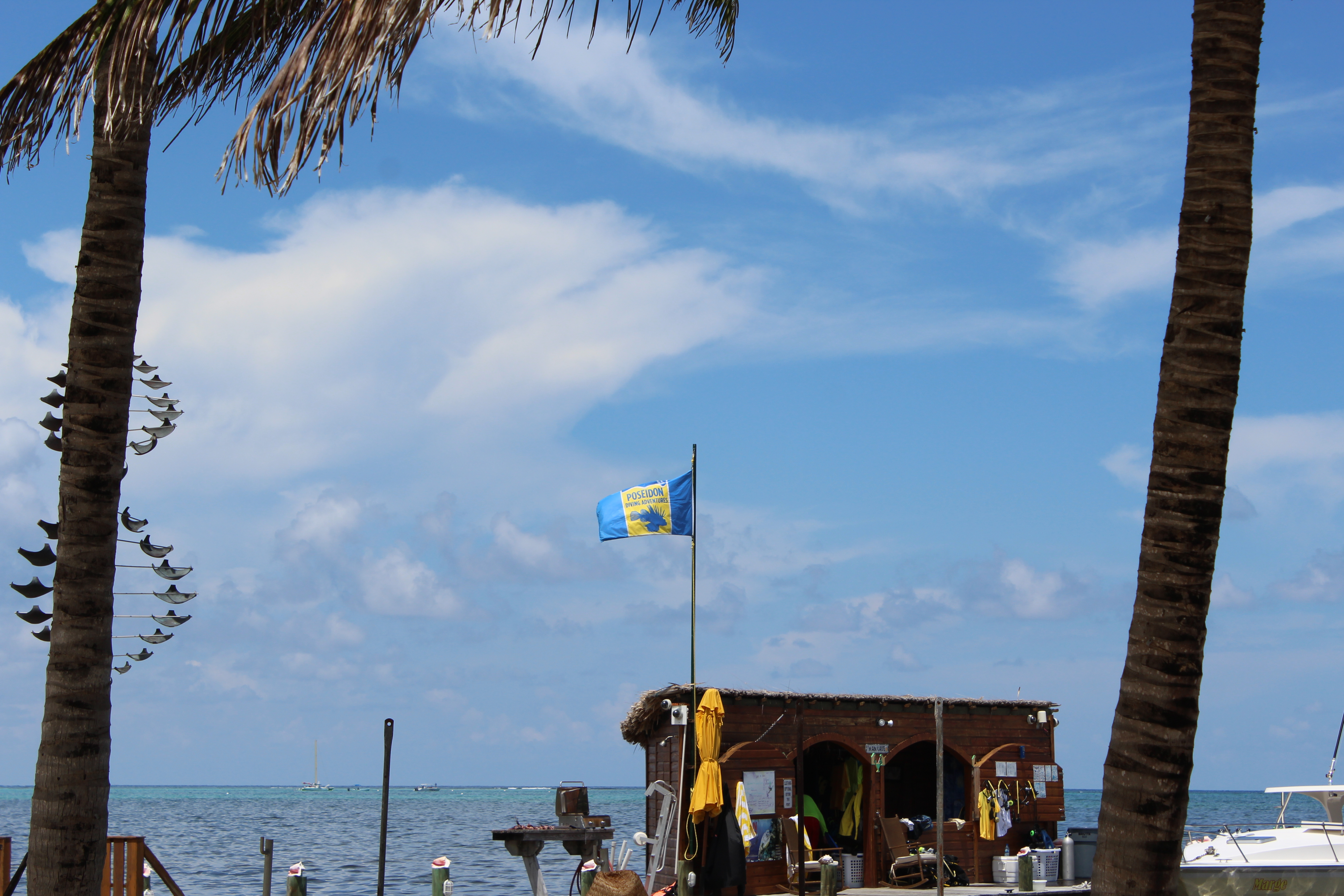 Poseidon Belize at Canary Cove: Private Powerboat Excursions