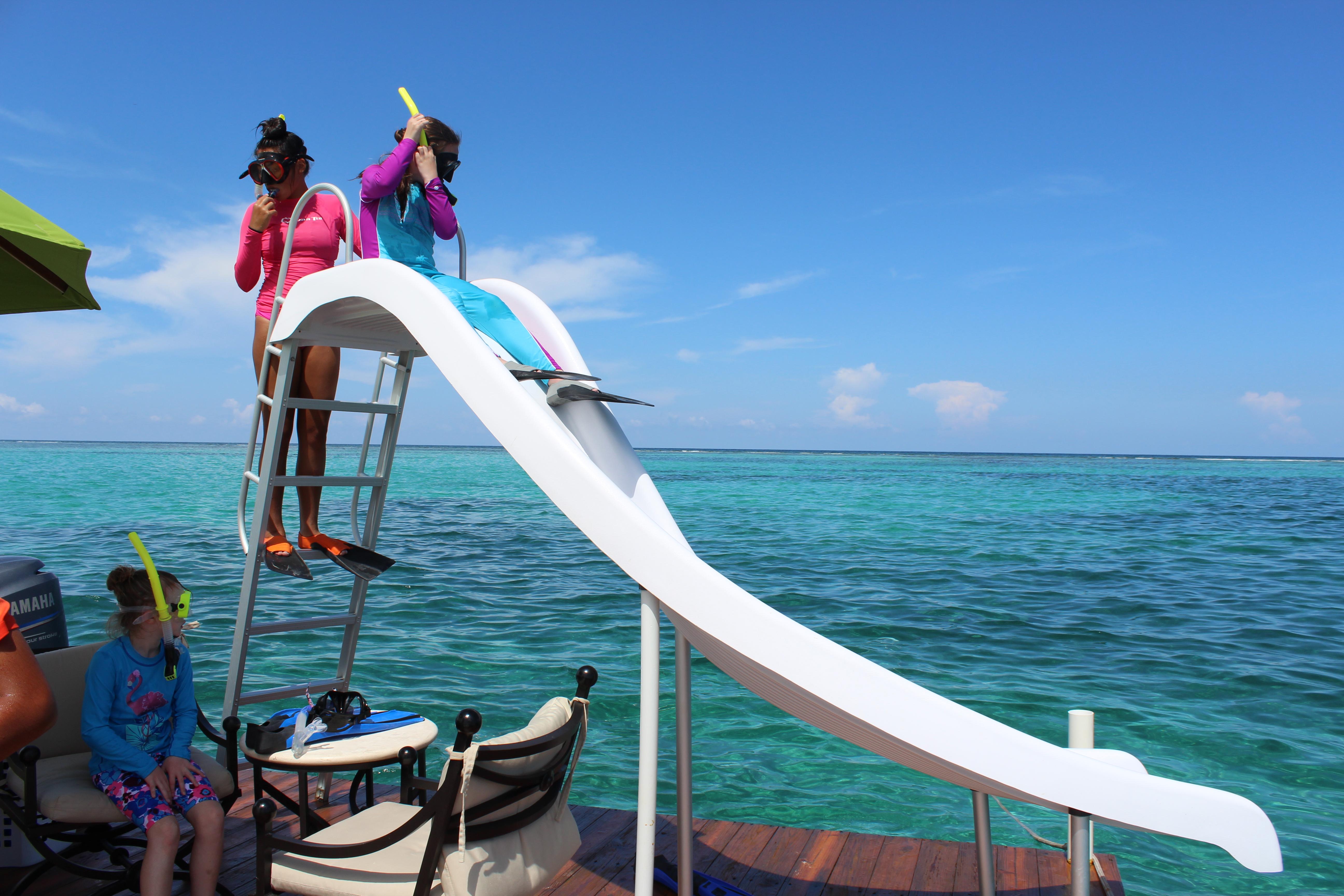 Canary Cove Private Swim Platform Fun at Mexico Rocks