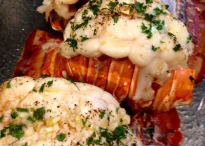 Canary Cove Private Chef-prepared Fresh Lobster Tails