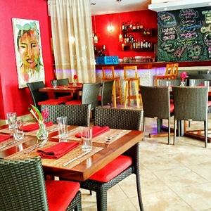 Red Ginger restaurant Belize