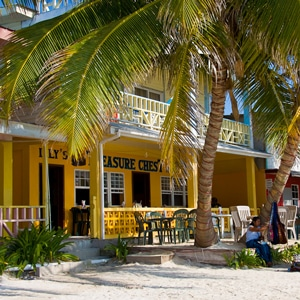 Lily's Treasure Chest restaurant Belize