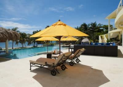 Canary Cove Main House Patio, Swim Up Bar, Infinity Pool