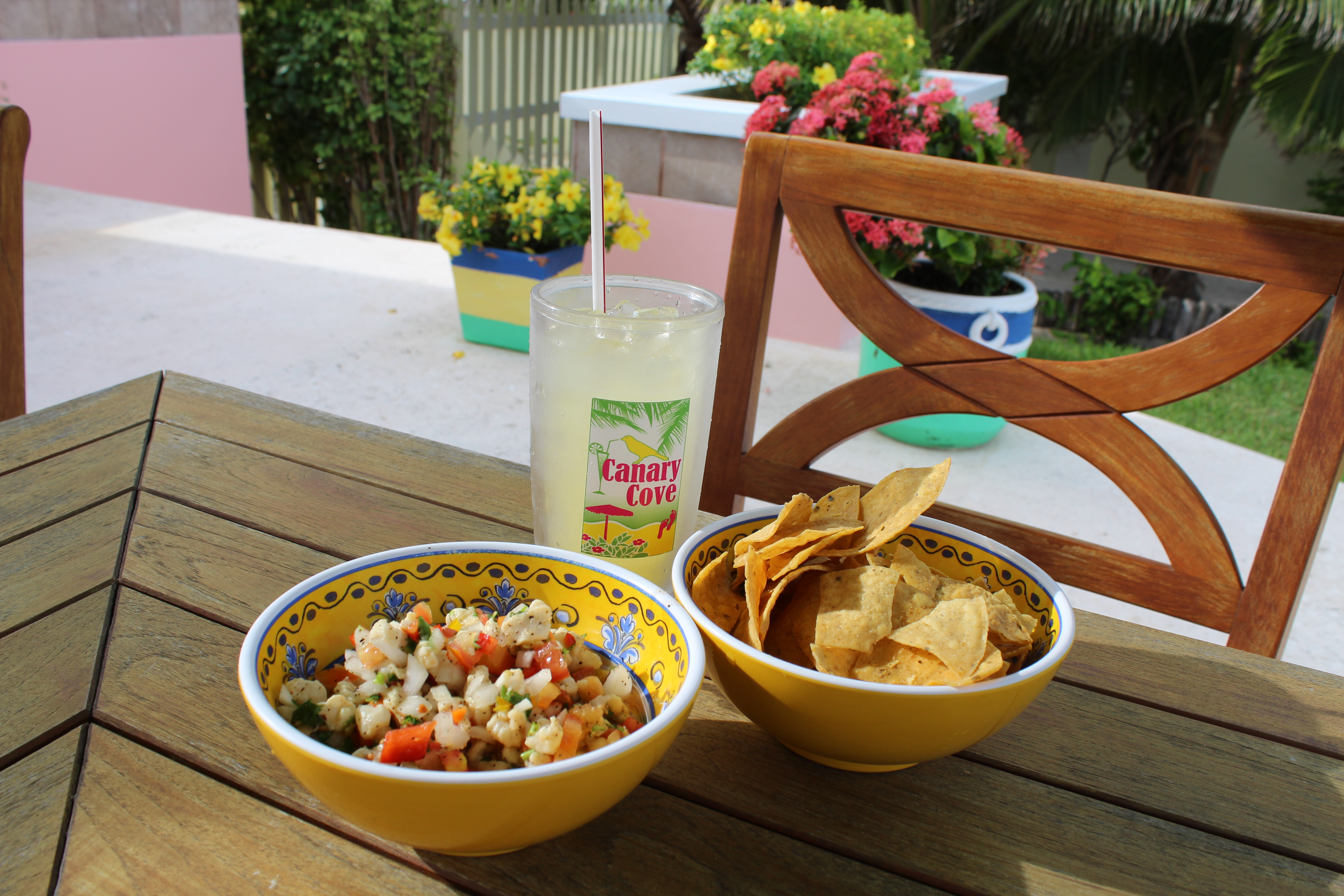 Canary Cove Freshly Chef-Prepared Lionfish Ceviche Snack