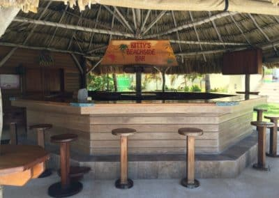Kitty's Bar at Canary Cove's Main House has Ample Seating for Large Groups