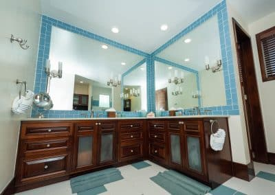Canary Cove Villa Suite 1 Ensuite Bathroom with Double Vanities