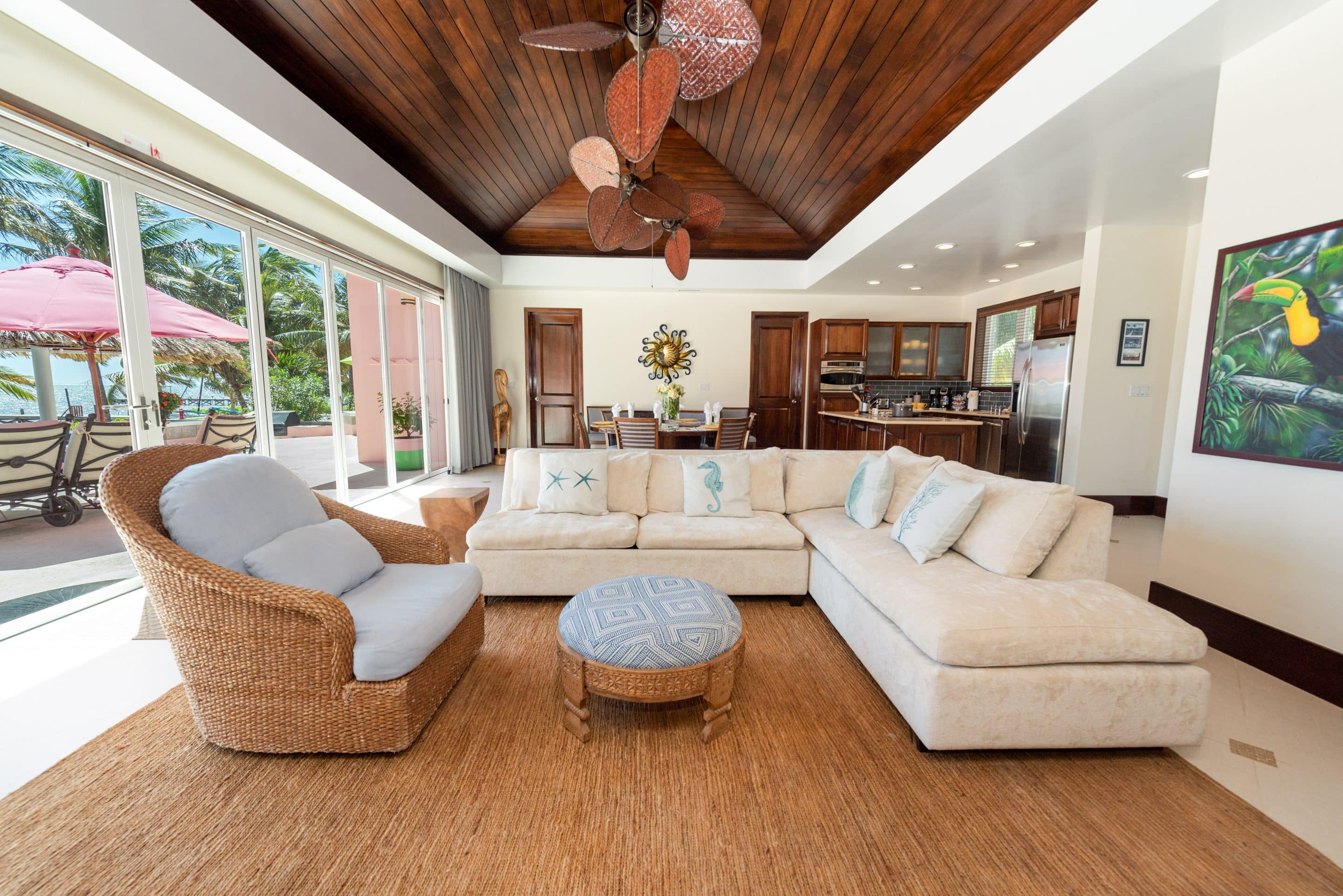 Canary Cove Villa Ocean View with Open Floor Plan and Sleeper Sofa