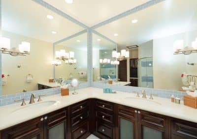 Canary Cove Villa Suite 3 Ensuite Bathroom Double Vanities